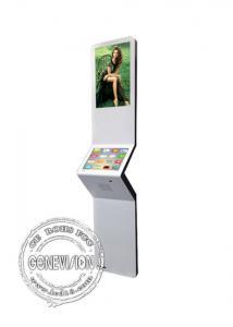 China tótem digital superior de la señalización de 15inch LCD de las ventanas del tacto de Kisok HD de la exhibición de la pared del soporte de la pantalla androide digital de la publicidad on sale