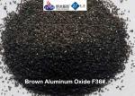 High Hardness  Aluminium Oxide Blasting Media Brown Artifical Corundum F12-F220