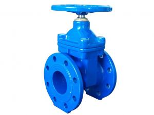China (DIN) Cast Iron Resilient Gate Valve NRS on sale
