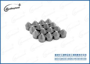 China Spherical Tungsten Carbide Conical Button For Mining Impact Toughness on sale