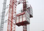 Industrial Construction Hoist SC200 / 200GZ , CE Approved Building Hoist