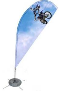 China Outdoor Flying,tear drop banners,Outdoor Flying Banner on sale