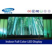 Full Color P4 Indoor LED Display Screen 16.7M , SMD Stage LED Screen S-Video Component