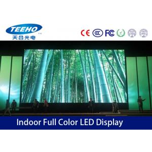 China Full Color P4 Indoor LED Display Screen 16.7M , SMD Stage LED Screen S-Video Component on sale