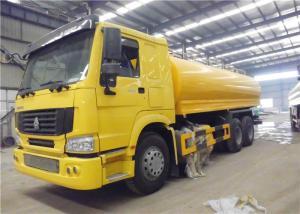 China Sinotruk HOWO 10 Wheeler Water Transport Trailer , 20cbm 20 Tons Water Sprinkler Truck on sale