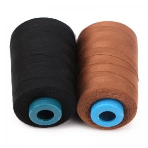 China Industrial Nylon Sewing Thread For Shirts , Dyed Pattern Spun Sewing Thread on sale