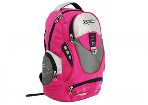 China Peach Twill Outdoor Sports Bags Rucksacks Knapsack Medium Capacity on sale