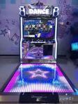 Interactive Motion Sensing Dance Game Machine , Arcade Dance Machine
