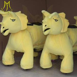 China Hansel electronic game equipment electronic plush motorized animals for mall on sale