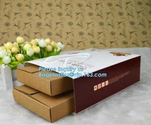 China Bread Art Packing Kraft Paper Bag,Food Grade disposable Paper Bag With Logo Print,Beautiful printing Food grade package on sale