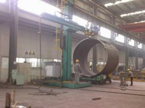 China High Accuary Column and Boom Welding Manipulator For Pipe / Tank on sale
