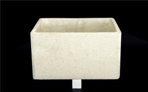 China Alumina Ceramic Tray Refractory Kiln Furniture For Furnace Customize Size on sale