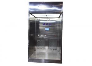China 0.2 - 0.6 m / S Airflow Liquid Dispensing Booth / Class 100 Clean Room on sale