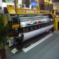 190 square meter per hour Konica 512i head large format solvent printer 3.2 meter flex banner printing machine