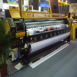 China 190 square meter per hour Konica 512i head large format solvent printer 3.2 meter flex banner printing machine on sale