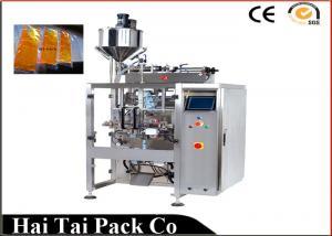 China Tipo líquido automático material del agua de la empaquetadora del bolso plástico de la almohada 120-1500 ml on sale