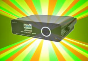 China 532nm TE-cooled Full Color Laser Projector L368RGY  on sale