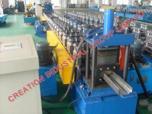 China Cr12型の鋼鉄ローラーが付いている機械を作る自動金属の戸枠 on sale