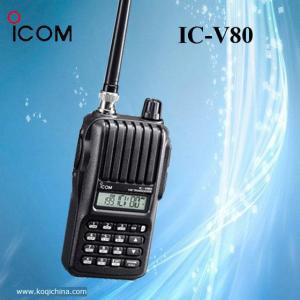 China ICOM IC-V80 Portable Ham Amateur Radios 14km Talk Range on sale