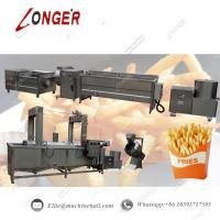 China Fully Automatic French Fries Production Line|Commercial French Fries Making Line|Automatic French Fries Processing Line on sale