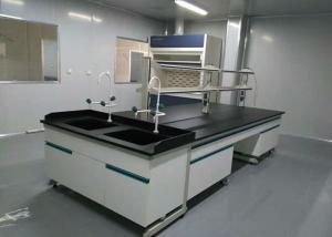 China Acid / Alkali Proof Modular Lab Furniture Phenolic / Epoxy Resin Work Top on sale