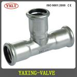 press pipe fitting Tee