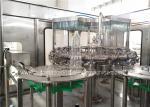 SUS Automatic Water Bottle Filling Machine , Pet Water Bottling Equipment