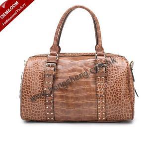 China 2012 Stylish Hottest Crocodile Texture Leather Woman Handbags (Z-5209#) on sale