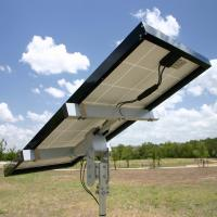 Aluminium pole side solar bracket for solar mounting system