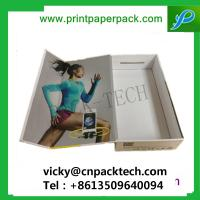 China Custom Rigid One Piece Folding Set-up Box Cosmetic Box Luxury Garment Packaging Boxes Hair Extension Boxes on sale