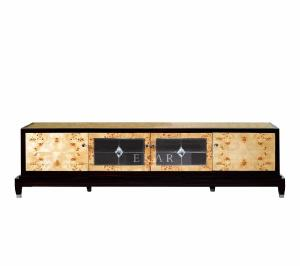 China Chinese Classical Extra Long Veneered Wooden TV Cabinet From Foshan MKBN-KG2221M-001 on sale
