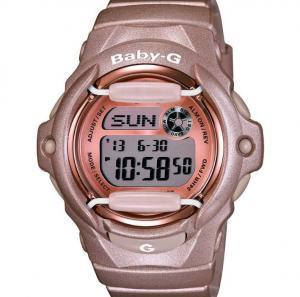 China Wholesale Casio Baby-G BG-169G-ER Ladies Women Wrist Watch 5 Alarm Gold/Bronz Resin Strap on sale
