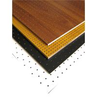 MDF Perforated Wood Acoustic Panels Auditorium Sound Insulation Wooden Board