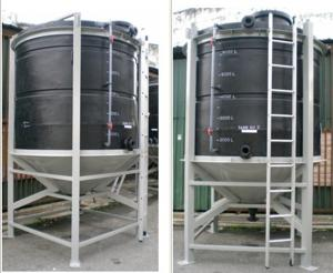 PE Base Conical Tank for sale – Plastic water tank manufacturer from