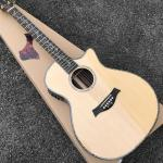 OEM CUSTOM 916n classic acoustic guitar, Guitarra acustica,Cutaway solid Spruce top Guitar,Abalone inlays
