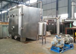 China Low Temperature Industrial Vacuum Dryer Machine For Strawberry Pineapple  Apple Chips on sale