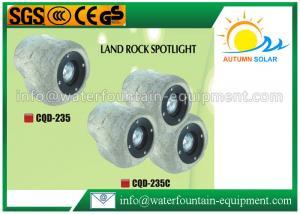 China 20W Outdoor Solar Rock Spotlights , Garden Decorative Solar Landscape Spotlights on sale
