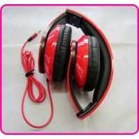 Cheap / Promotional Studio Headphones, Red Stereo Foldable DJ Headphone YDT60