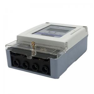 China Static Smart Card Prepaid Energy Meter  / Split Prepaid Electricity Meters 220V on sale