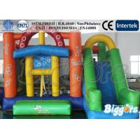 Bubble Inflatable Combo Bouncing Castle Jumping Games With ASTM F963 Proved