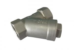 China 1 - 1/2 304 Stainless Steel  Y Check Valve Jis, Astm, Ansi Standard 800 WOG on sale