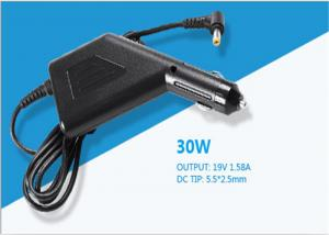 China Grade A quality Over Current Protection DC 19V 1.58A Car Chargers for I.T.E High Efficiency on sale