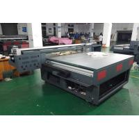 Glass Flatbed Uv Printer , Inkjet Flatbed Printing Machine Stable Operation