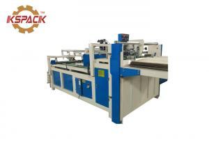 China Semi Automatic Folder Gluer  For Small Corrugated Cardboard Box Making Machine on sale