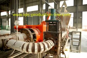 China Extruded  Styrofoam Sheets XPS Extruder Equipment Large Capacity on sale