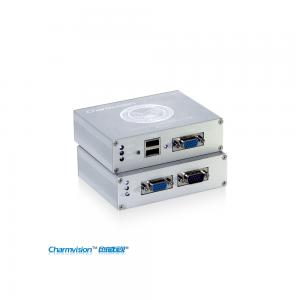 China Charmvision EKU100HR, 100 meters USB KVM extender with adjustment and anti-lightning function on sale
