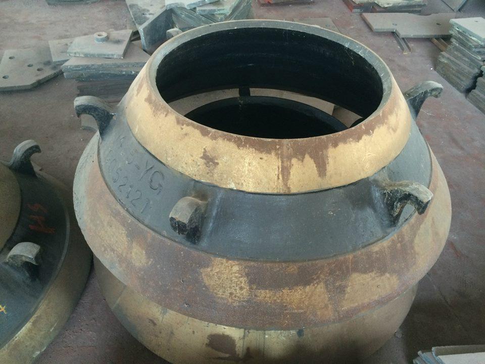 high manganese cone crusher bowl liner cone crusher mantle