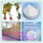 Testosterona 1255-49-8 cristalina branca do pó da hormona de esteroides anabólicos Phenylpropionate de impedir a atrofia do músculo