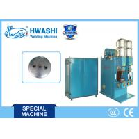 Auto Parts Welding Machine for Nuts on Air Tank Cover / Automobile Gasholder End Cover