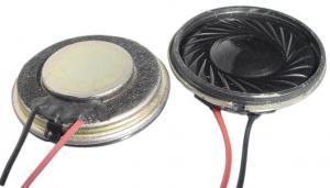 China 28mm Mylar Speaker 8 Ohm 1 Watt With Good Sound For Earphone Mp4 on sale